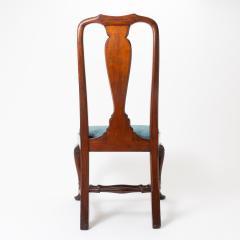 Boston Queen Ann mahogany slip seat side chair - 1922231