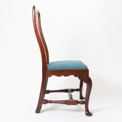 Boston Queen Ann mahogany slip seat side chair - 1922232