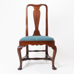 Boston Queen Ann mahogany slip seat side chair - 1922233