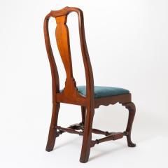 Boston Queen Ann mahogany slip seat side chair - 1922234