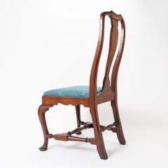 Boston Queen Ann mahogany slip seat side chair - 1922237