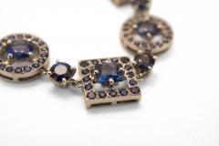 Boucheron Paris sapphire bracelet - 54840