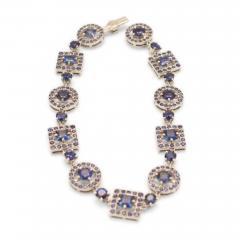Boucheron Paris sapphire bracelet - 54844