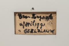 Bram Bogart Bram Bogart Painting Signed Belgium 1981 - 1104850