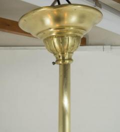 Brass Art Nouveau Chandelier 1900s - 1680881