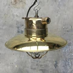Brass Explosion Proof Cage Ceiling Pendant - 1007846
