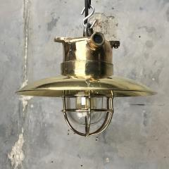 Brass Explosion Proof Cage Ceiling Pendant - 1007849
