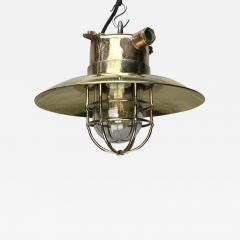 Brass Explosion Proof Cage Ceiling Pendant - 1009069