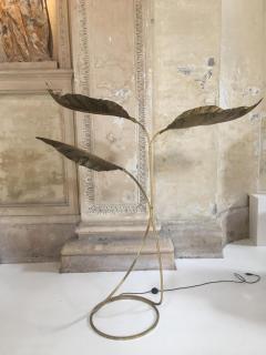Brass Floor Lamp by Tommaso Barbi - 1160589