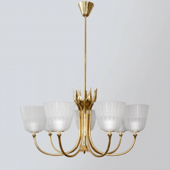 Brass Swedish Chandelier by Bor ns Bor s - 618939
