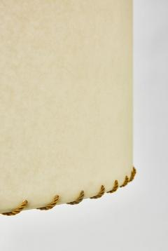 Brass Table Lamp with Parchment Paper Shades - 1110345