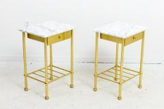 Brass and Marble Side Tables - 1738458