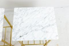 Brass and Marble Side Tables - 1738460