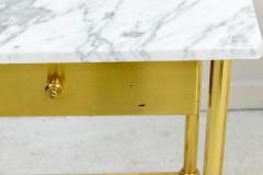 Brass and Marble Side Tables - 1738468