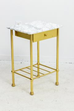 Brass and Marble Side Tables - 1738469