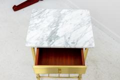 Brass and Marble Side Tables - 1738470