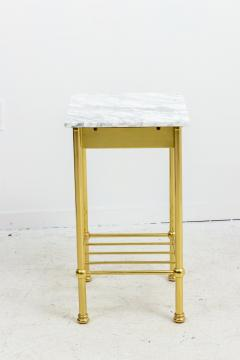 Brass and Marble Side Tables - 1738471