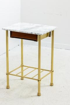 Brass and Marble Side Tables - 1738473