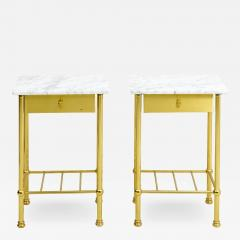 Brass and Marble Side Tables - 1738632