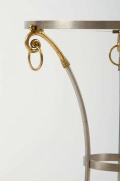 Brass and Steel Gueridon after Maison Jansen - 774624