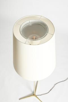 Brass floor lamp 50s Switzerland new lampshade - 1849674