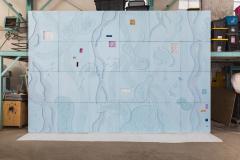 Brecht Wright Gander Brecht Wright Gander Concrete Occlusion Wall Mural USA 2019 - 987275