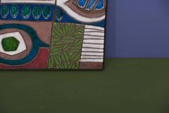 Brent Bennett Abstract Mural with Frame by Brent J Bennett US 2019 - 1249776
