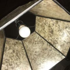 Bridge Floor Lamp with Mica shade in the style of Deskey or Rhode - 424386