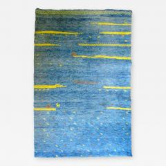 Bright Blue High Pile Gabbeh Rug - 223722