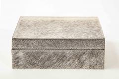 Brindle Hide Keepsake Box - 2132396