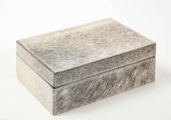Brindle Hide Keepsake Box - 2132398