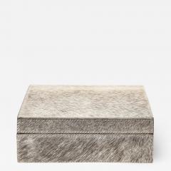 Brindle Hide Keepsake Box - 2133481