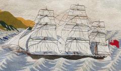 British Sailors Woolwork Woolie on Unusual Sea - 1773300