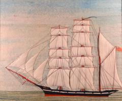 British Sailors Woolwork of the Barque Named Polly - 1618400