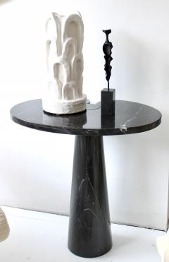 Bronze Abstract Figurative Sculpture on Black Marble Mount - 1616752