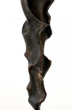 Bronze Abstract Figurative Sculpture on Black Marble Mount - 1616756