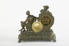 Bronze Ansonia The Composer Figural Mantel Clock - 2107505