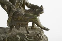Bronze Ansonia The Composer Figural Mantel Clock - 2107508