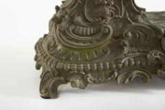Bronze Ansonia The Composer Figural Mantel Clock - 2107509