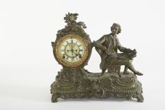 Bronze Ansonia The Composer Figural Mantel Clock - 2107511