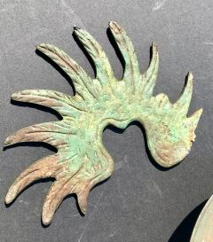 Bronze Baroque Six Arm Chandelier Dutch Flemish - 752752