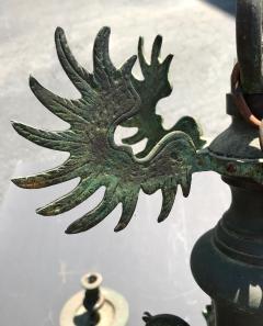 Bronze Baroque Six Arm Chandelier Dutch Flemish - 752753