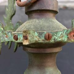 Bronze Baroque Six Arm Chandelier Dutch Flemish - 752760