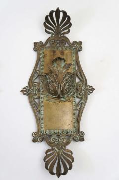 Bronze Beaux Arts Sconces c 1910 - 790233