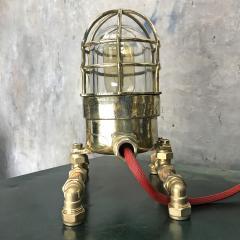 Bronze Brass Glass Copper Edison Steampunk Industrial Table Lamp - 1029749