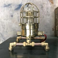 Bronze Brass Glass Copper Edison Steampunk Industrial Table Lamp - 1029750