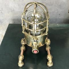 Bronze Brass Glass Copper Edison Steampunk Industrial Table Lamp - 1029751