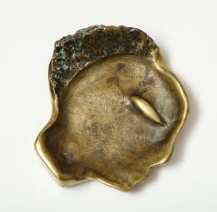 Bronze Face Sculpture Tray - 1326155