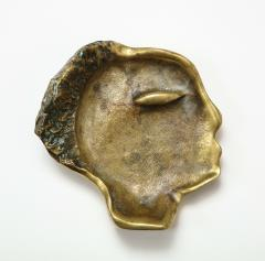 Bronze Face Sculpture Tray - 1326157