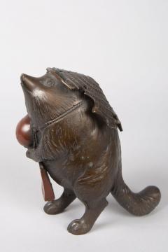 Bronze Figure of a Badger - 1950272